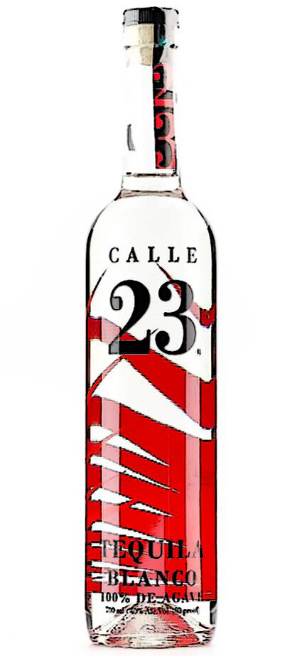 CALLE 23 BLANCO TEQUILA 40% 750ML